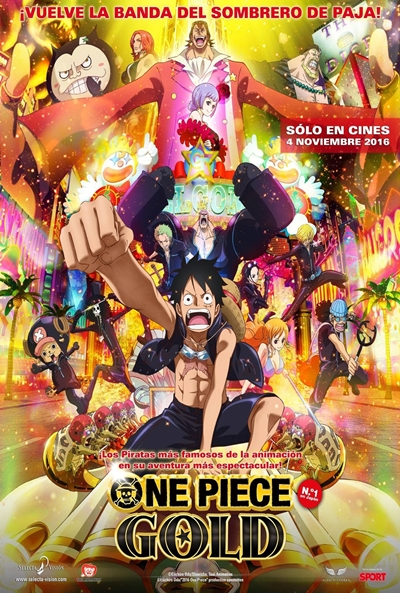 One Piece Film Gold Descargar