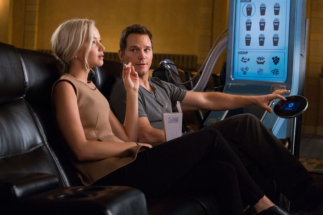 Passengers : Foto Chris Pratt, Jennifer Lawrence