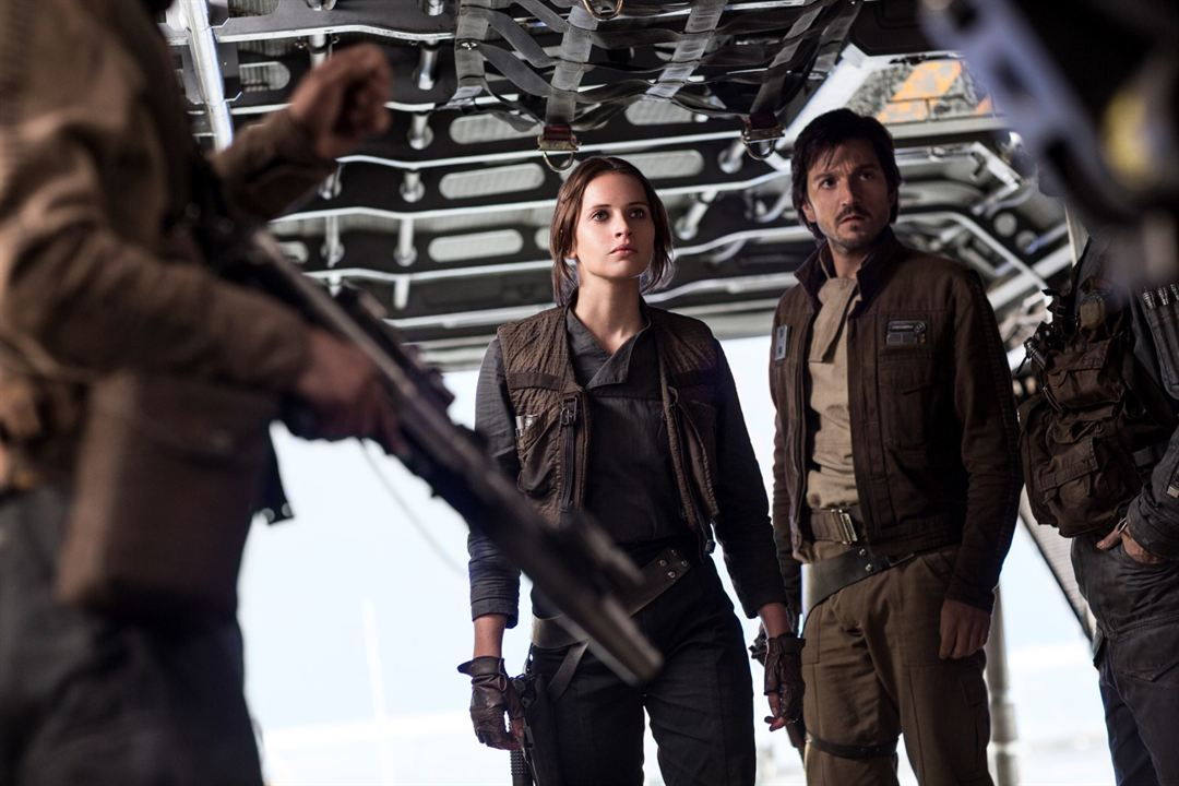 Rogue One: Una historia de Star Wars : Foto Diego Luna, Felicity Jones