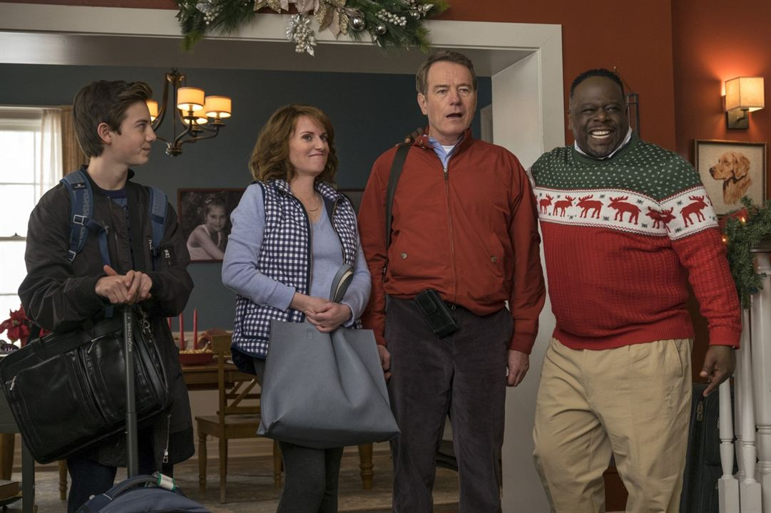 ¿Tenía que ser él? : Foto Bryan Cranston, Cedric The Entertainer, Griffin Gluck, Megan Mullally