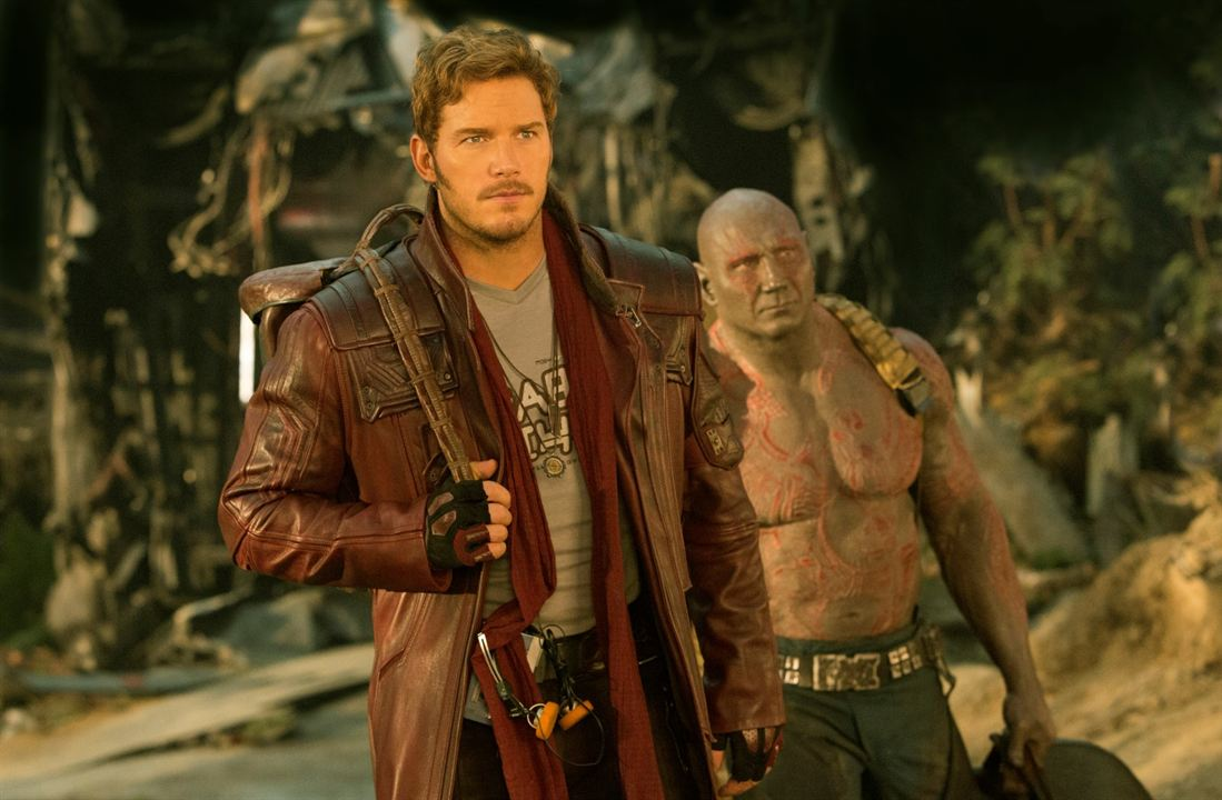 Guardianes de la Galaxia Vol. 2 : Foto Chris Pratt, Dave Bautista