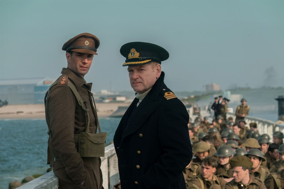 Dunkerque : Foto James d'Arcy, Kenneth Branagh
