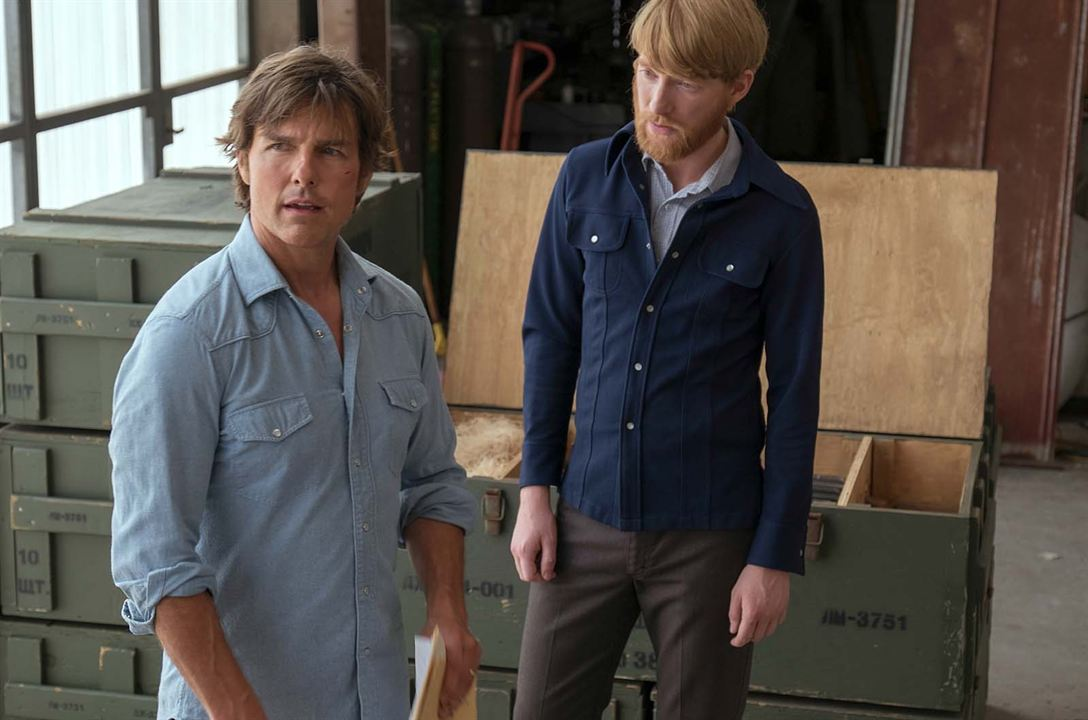 Barry Seal: El traficante : Foto Domhnall Gleeson, Tom Cruise