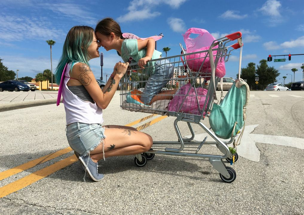 The Florida Project : Foto Bria Vinaite, Brooklynn Prince