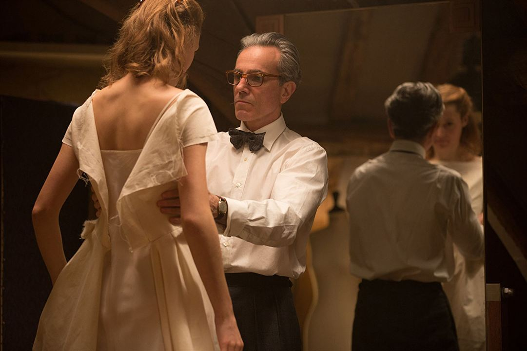 El hilo invisible : Foto Daniel Day-Lewis, Vicky Krieps