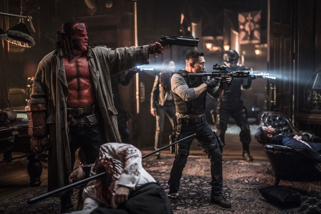 Hellboy : Foto Daniel Dae Kim, David Harbour