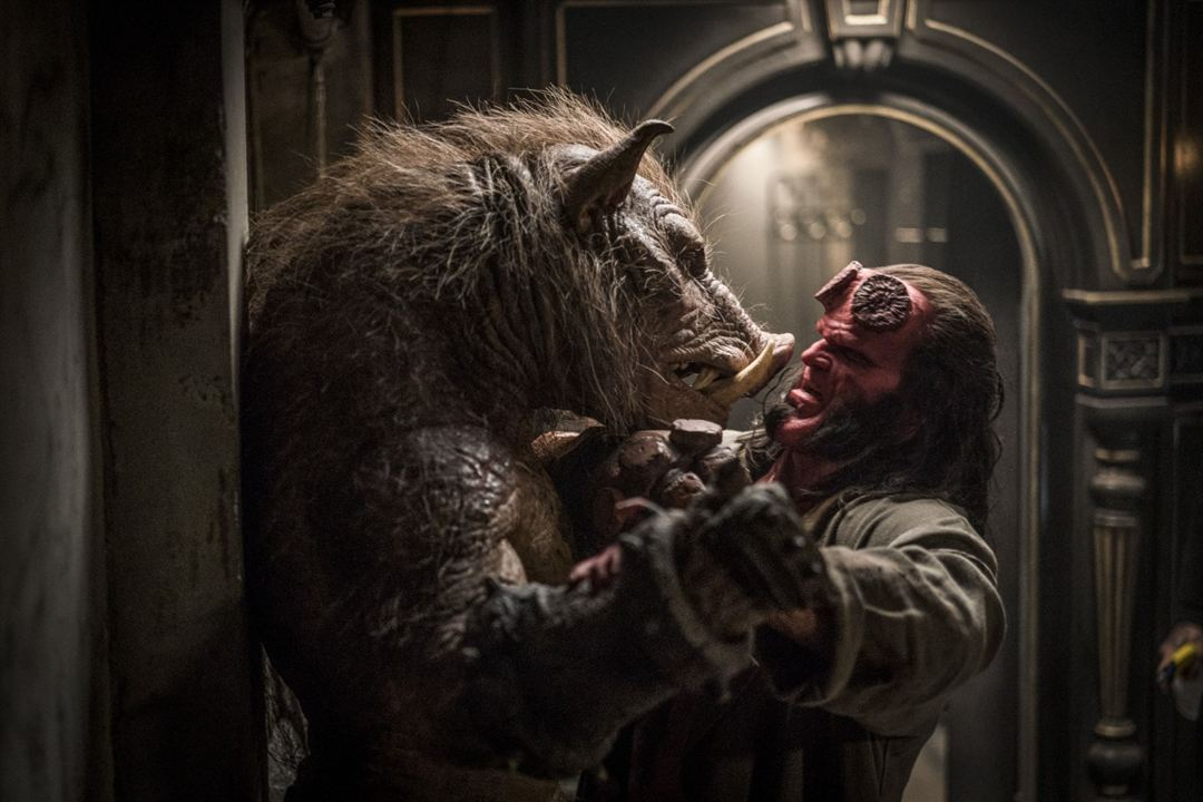 Hellboy : Foto David Harbour, Douglas Tait