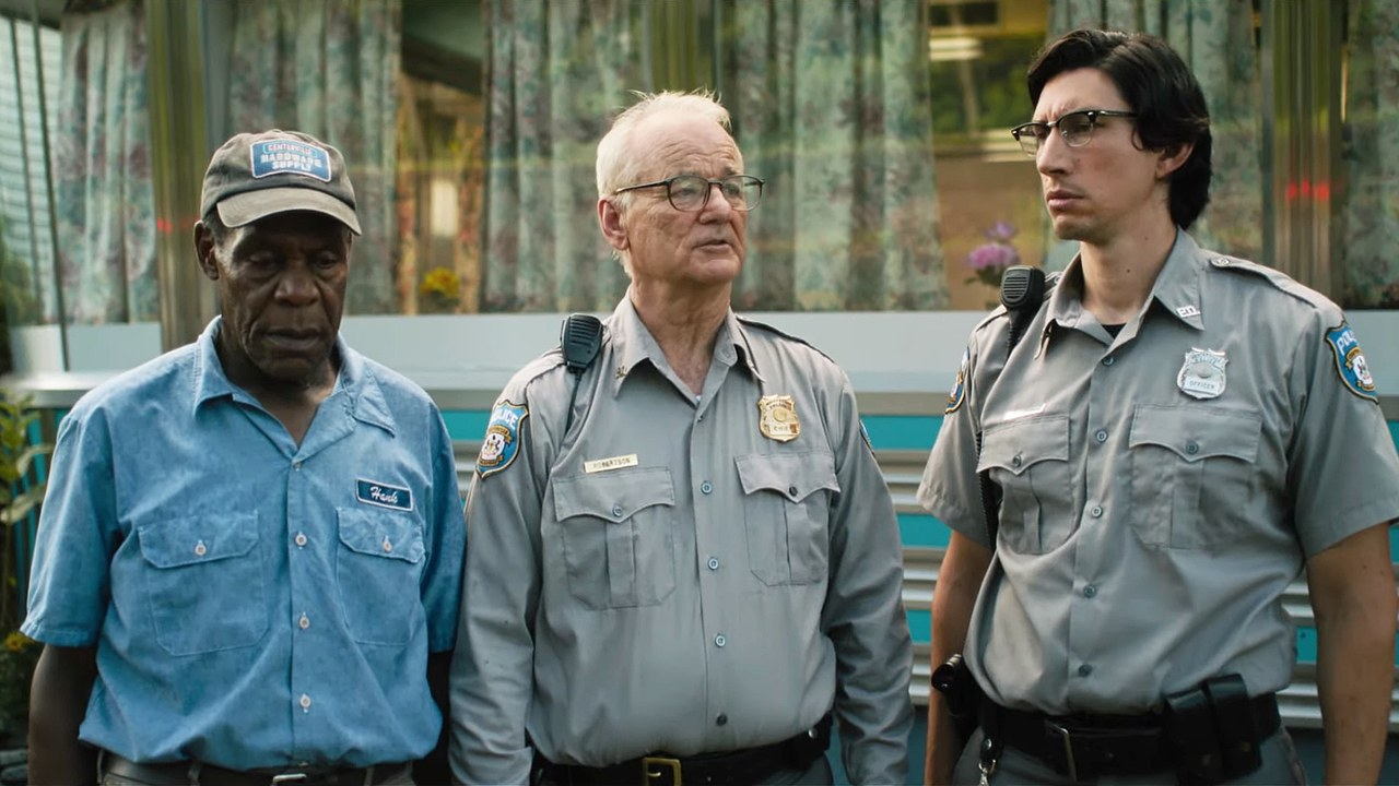 Los muertos no mueren : Foto Adam Driver, Bill Murray, Danny Glover