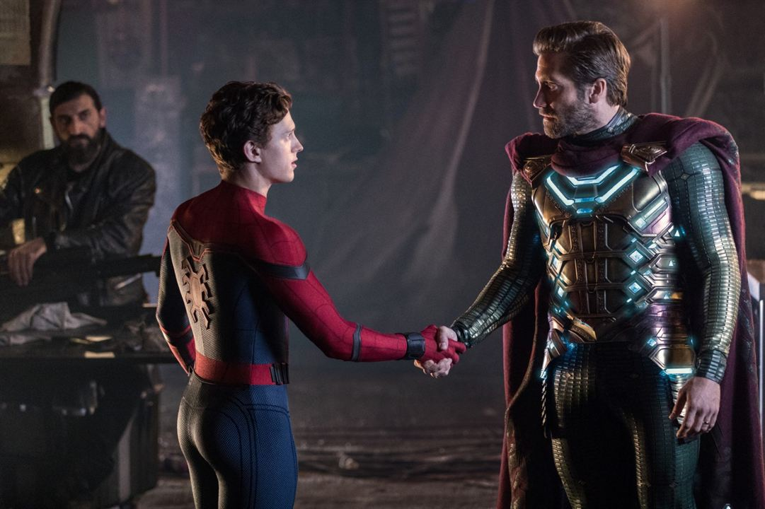 Spider-Man: Lejos de casa : Foto Jake Gyllenhaal, Tom Holland
