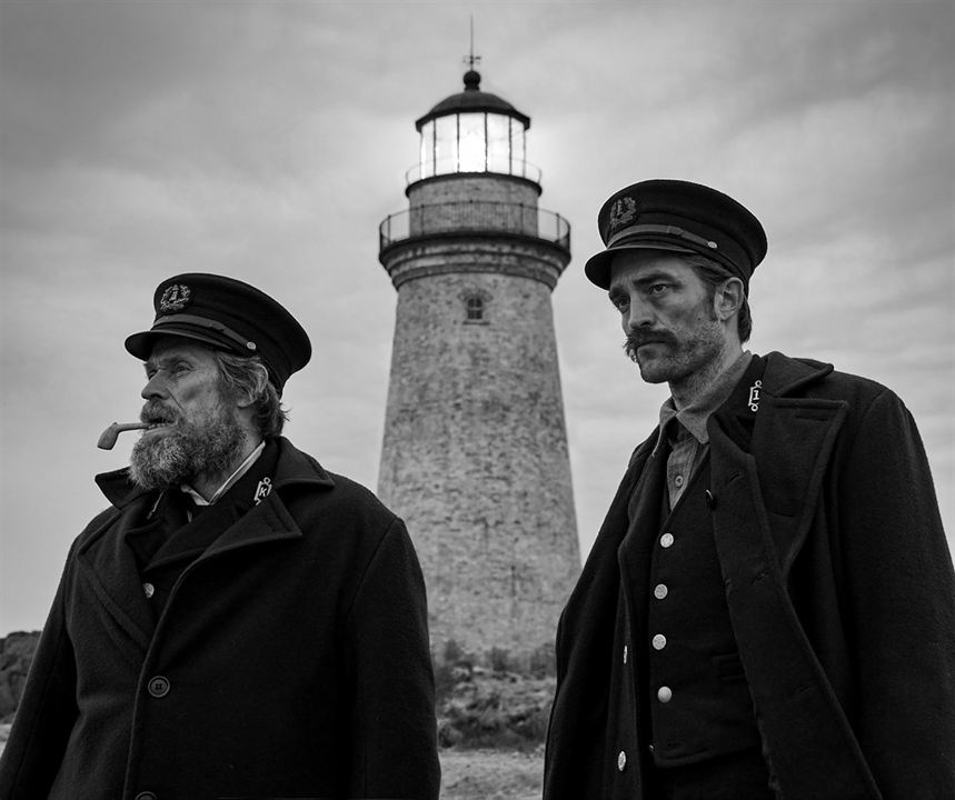 El faro : Foto Robert Pattinson, Willem Dafoe