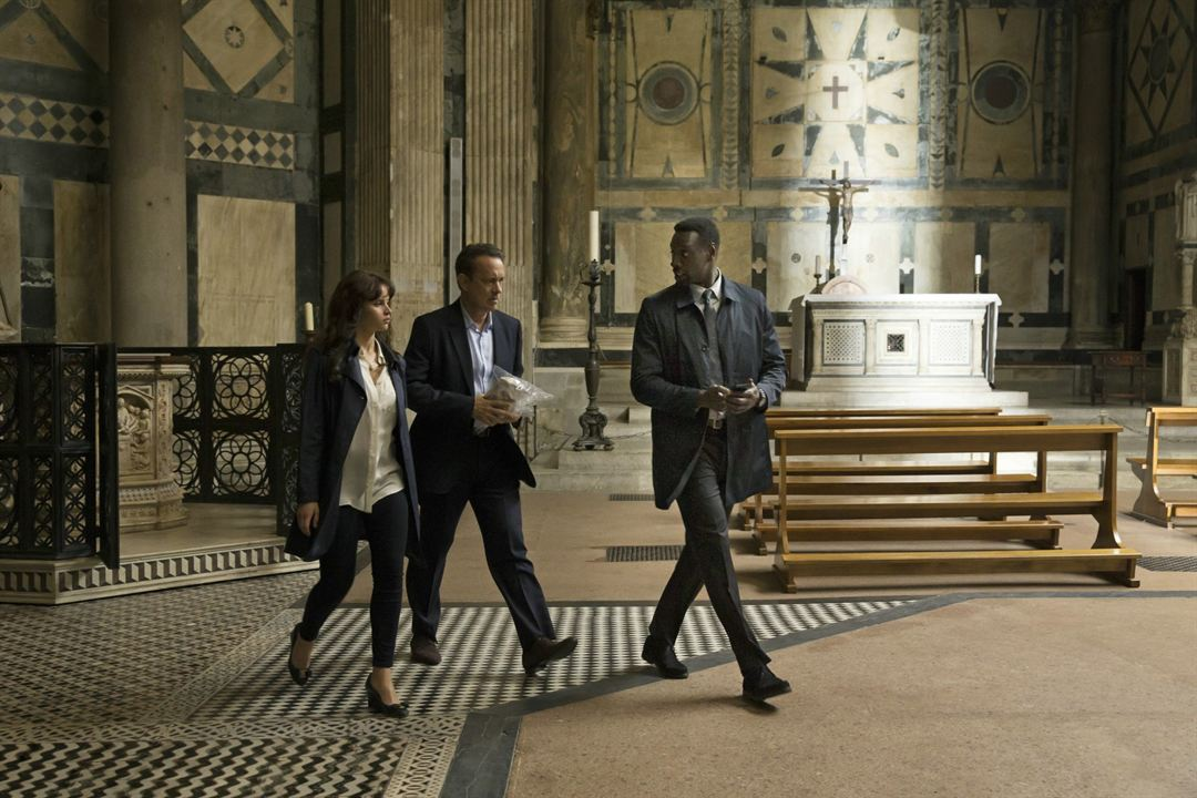 Inferno : Foto Felicity Jones, Omar Sy, Tom Hanks