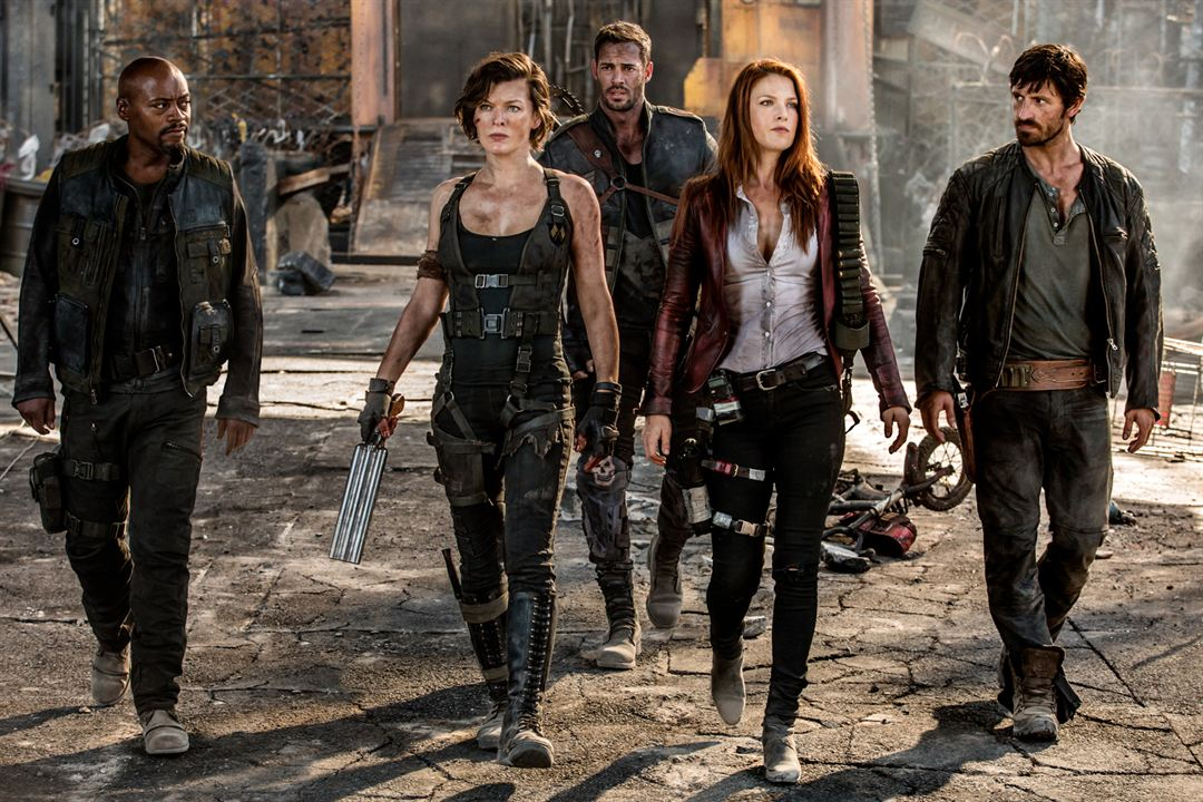 Resident Evil: El capítulo final : Foto Ali Larter, Eoin Macken, Fraser James, Milla Jovovich, William Levy