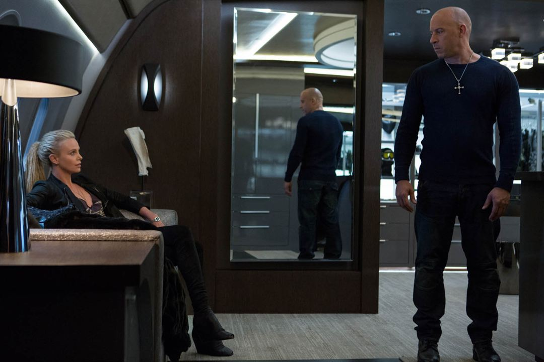 Fast & Furious 8 : Foto Charlize Theron, Vin Diesel
